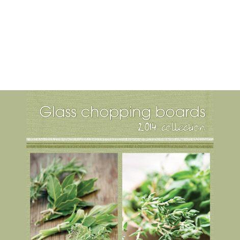 GLASS CHOPING BOARD