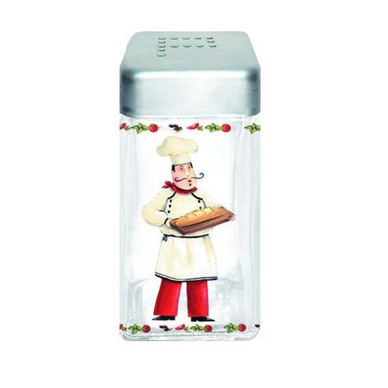 Pojemnik szklany z pokrywą na pieprz