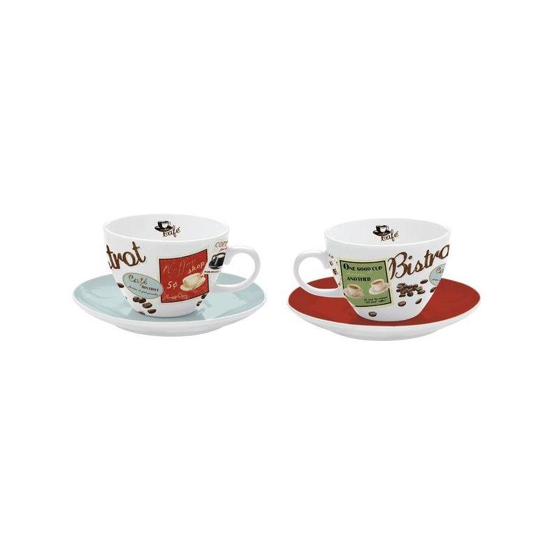 Zestaw 2 filiżanek cappuccino