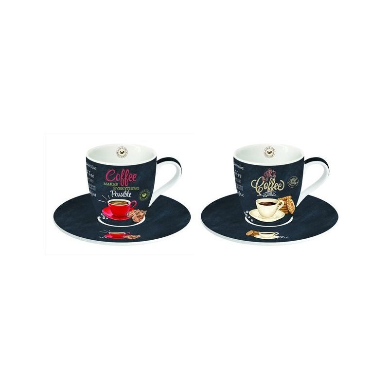 Zestaw 2 filiżanek espresso